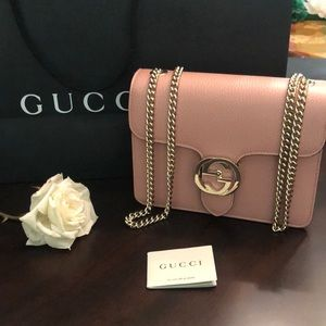 Gucci crossbody bag with chain